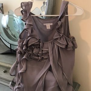 Ladies gorgeous gray Spring top. Sz. M